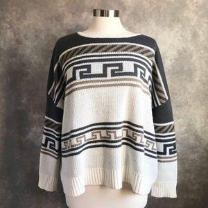 Jack BB Dakota Drop Shoulder Oversized Sweater M